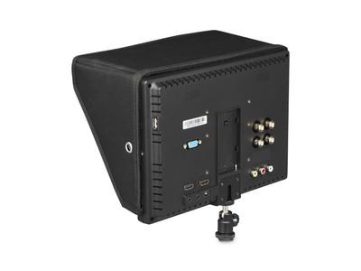Écran field 10 pouces - Connectiques et batterie