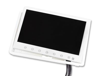 encastrement écran 7 pouces blanc