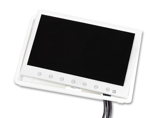 écran 7 pouces blanc