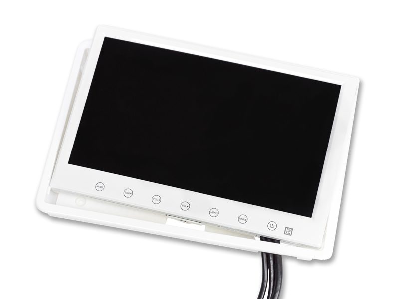 cran led ips 7 pouces blanc. Black Bedroom Furniture Sets. Home Design Ideas