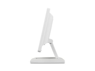 Écran 12 pouces (blanc) - pied ajustable
